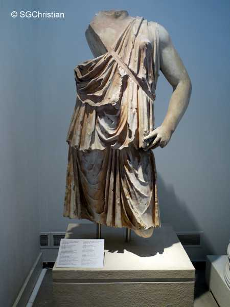 Idol of Roma at Archaeological Museum of Thessaloniki