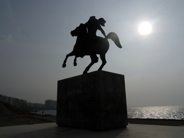 Statue of Alexender the Great, Thessaloniki, Greece