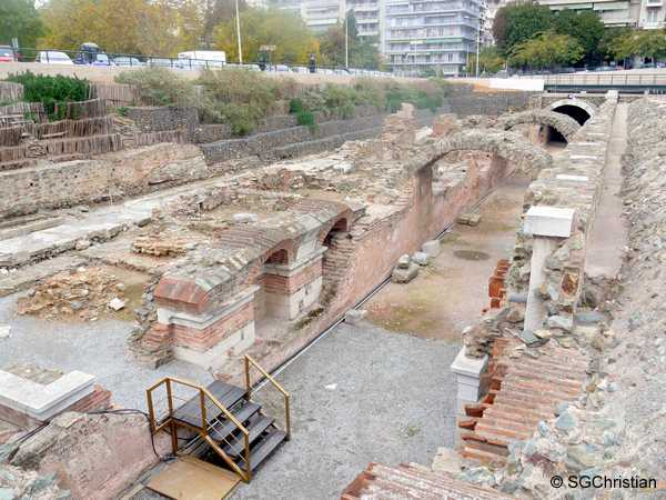 Roman Agora, Thessaloniki, Greece