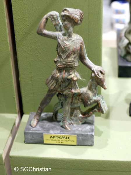 Souvenir of Artemis at Thessaloniki